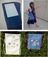 Παιδικές κεντημένες τσάντες