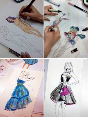Νέο σεμινάριο Σχέδιο Μόδας ξεκινάει την Τρίτη 26 Σεπτεμβρίου