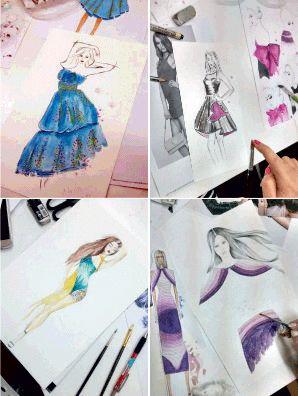 Νέο σεμινάριο Σχέδιο Μόδας ξεκινάει την Τρίτη 25 Απριλίου