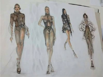 Νέο σεμινάριο Σχέδιο Μόδας Α' Κύκλος