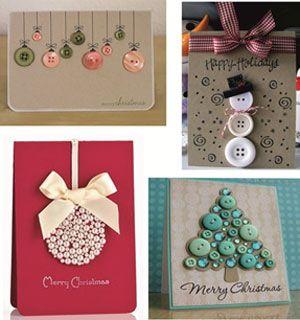 Χριστουγεννιάτικες κάρτες από τα χεράκια σας